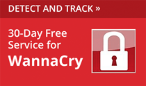 30-Day Free Service for WannaCry