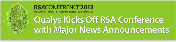 Qualys Kicks Off RSA Conference with Major News Announcements