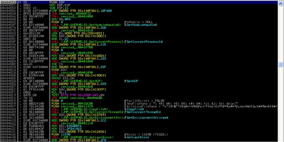 Analysis: Malware Win32/Rimecud B | Qualys Blog